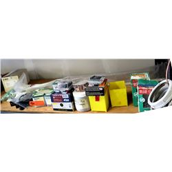 Box Bravo II Air Sense Relay, Dottie DWSBx61 & Blue Hawk Drywall Screws, etc