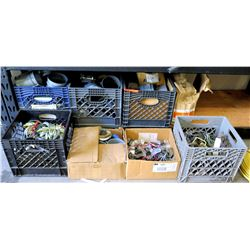 Multiple Misc Bushings, Couplings, Pipes, Clamps, Brackets, etc