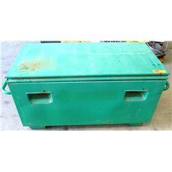 "Greenlee 2142 Mobile Job Box Storage Chest 20"" x 42"" x 20"""
