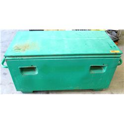 "Greenlee 2142 Mobile Job Box Storage Chest 20"" x 42"" x 20"""