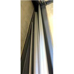 Multiple Misc. Aluminum PV Racking Rails