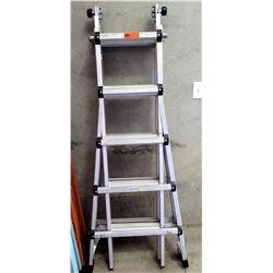 Adjustable Telescoping Articulating Ladder