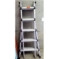 Adjustable Telescoping Articulating Ladder