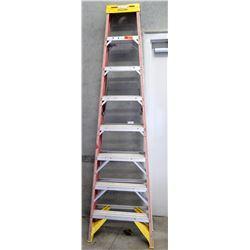 Werner Red Commercial Step Ladder