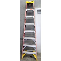 Werner Red Commercial Step Ladder