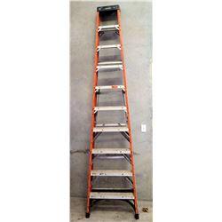 Husky Red Commercial Step Ladder