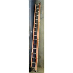 Commercial Locking Extension Ladder