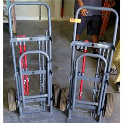 Qty 2 Windy City Wire Rack Stak Wire Feed Hand Truck?