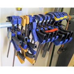 Multiple Misc Blue & Yellow Clamps