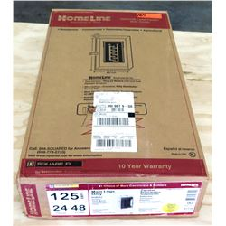 Homeline 125 Amps Main Lugs Only Indoor Surface Mount