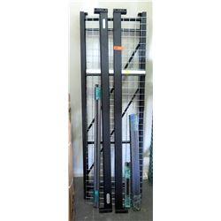 Whalen Storage Metal Shelf Disassembled