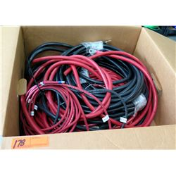 Misc Red & Black Welding Lead/Battery Wire