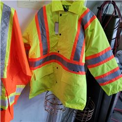 NEW HI VIS CONDOR ZIP JACKET - XL
