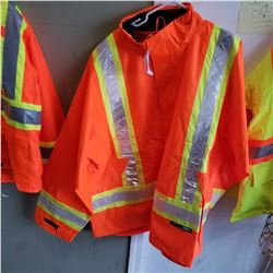 NEW HI VIS CONDOR 4XL RAIN JACKET