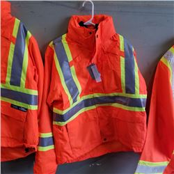 NEW CONDOR HI VIS MEDIUM BOMBER JACKET
