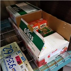 3 BOXES OF KERR MASON JARS AND LIDS
