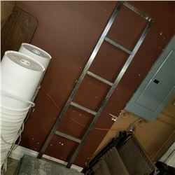 6FT STAINLESS LADDER