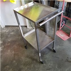 STAINLESS 2-TIER CART