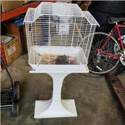HAGEN BIRD CAGE ON STAND