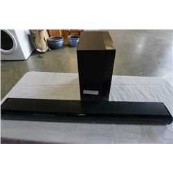 BOSE SOUND BAR AND SAMSUNG SUB - NO CORDS