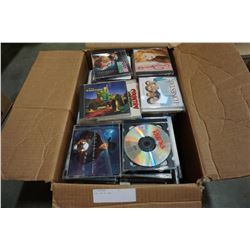 BOX LOT OF CDS