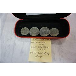 4 KRONER COINS