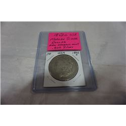 1882 O USA MORGAN SILVER DOLLAR, NEW ORLEANS MINT .900 SILVER