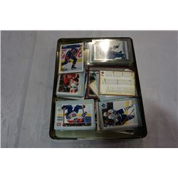 TRAY OF HOCKEY CARDS