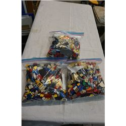 3 BAGS OF LEGO