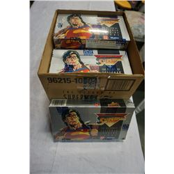 "CASE OF NEW ""THE RETURN OF SUPERMAN"" TRADING CARDS - SEALED"