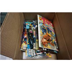 BOX OF 70 COMICS