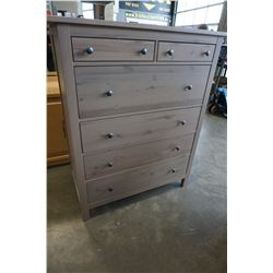 6 DRAWER PINE HIGHBOY