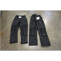 JOE ROCKET BALLISTIC RIDING PANTS MEDIUM AND JOE ROCKET BALLISTIC RIDING PANTS - LARGE