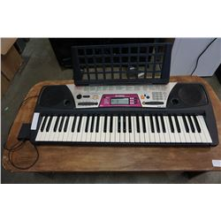 YAMAHA KEYBOARD AND STOOL
