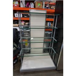5 TIER ROLLING RETAIL DISPLAY SHELF