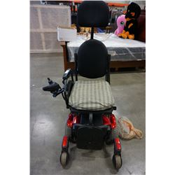 SYNERGY SHAPE ELECTRIC MOBILITY WHEEL CHAIR TESTED AND WORKING WITH CHARGER