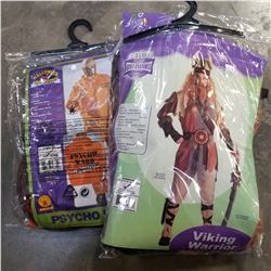 2 NEW ADULT HALLOWEEN COSTUMES - VALUE $100