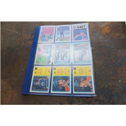 BINDER OF GRETZKY 1980S OPEECHEE HOCKEY CARDS