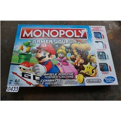 MARIO MONOPOLY GAMER EDITION