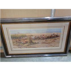 """SAVANA SIESTA - AFRICAN LIONS"" LEP BY JOHN SEEVEY LESTER #24534"