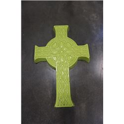 LARGE RELIGIOUS CONCRETE CROSS