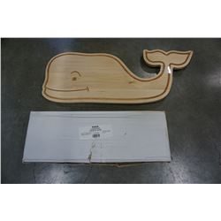 WHALE CUTTING BOARD AND GARDEN ARCH