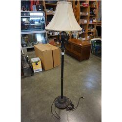 METAL BASE FLOOR LAMP