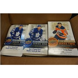 BOX OF HOBBY GRADE HOCKEY CARDS