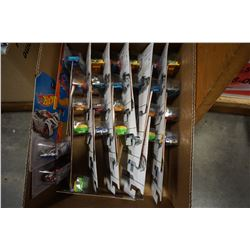 BOX OF NEW HOT WHEEL CARS