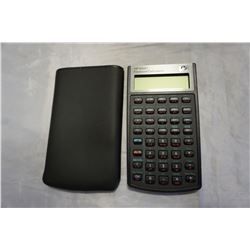 HP 10B11 AND FINANCIAL CALCULATOR W/ CASE