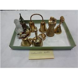 BRASS BELLS AND FIGURES