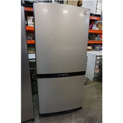BRADA STAINLESS STEEL FRIDGE FREEZER COMBO W/ INTERACTIVE DISPLAY TESTED AND WORKING GUARANTEED