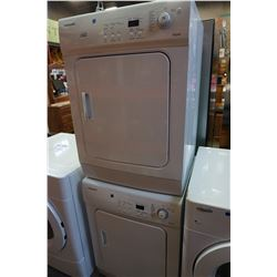 SET OF 2 STACKING SAMSUNG WASHER & DRYER TESTED AND WORKING GUARANTEED