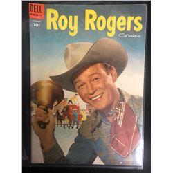 ROY ROGERS COMICS #85 (DELL COMICS) 1955